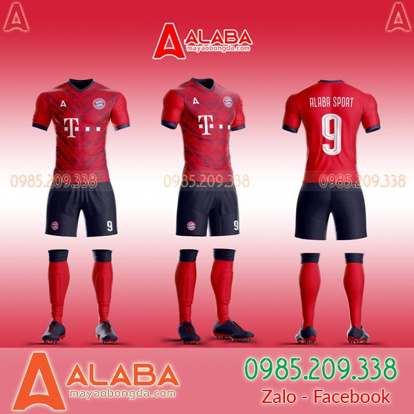 Áo Bayern Tự Thiết Kế Đẹp 2019 mã ALB BA02
