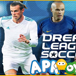 Dream League Soccer 2018  V5.02 MOD APK - Futbolcu ve Para Hileli