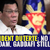President Duterte: No ISIS if Saddam, Gaddafi…