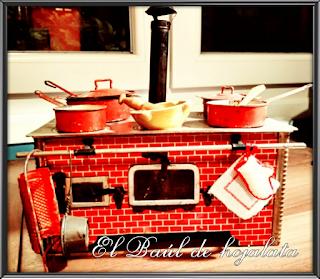Cocina de hojalata Paya 1945