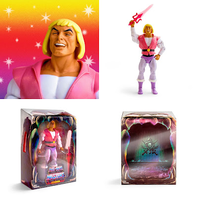 San Diego Comic-Con 2018 Exclusive Masters of the Universe Laughing Prince Adam Action Figure by Super7
