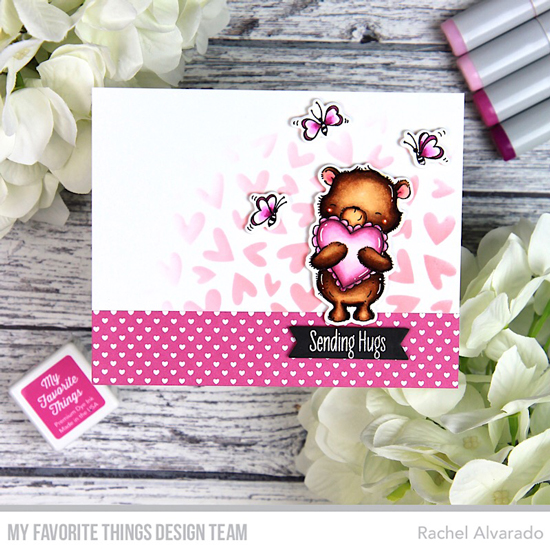 Handmade card by Rachel Alvarado featuring products from My Favorite Things #mftstamps
