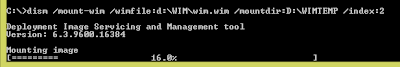 Configuration Manager - Inject Windows Updates into WIM image files using Windows 8.1 5