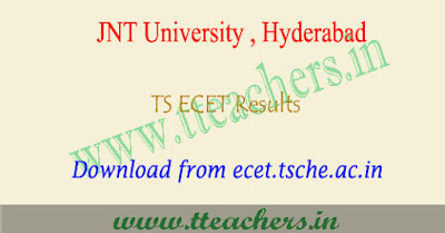 TS ECET results 2019, ecet result download 2019 Telangana