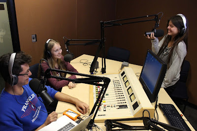 Image of SPOT 127 students in a studio