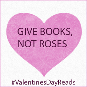 give books not roses banner