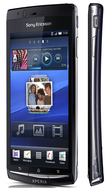 How To Connect On Holiday In The Sony Ericsson Xperia Arc On