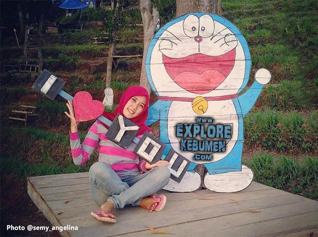 Doraemon Pantai Patemon Kebumen