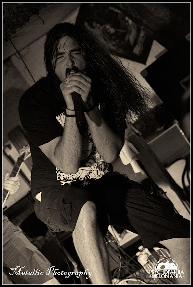 Randy Schaller @Voice Of Ruin, Metal Corporation Fest 2015 - METAL, MCP Apache, Fontaine-L'Évêque, Belgique 29/08/2015