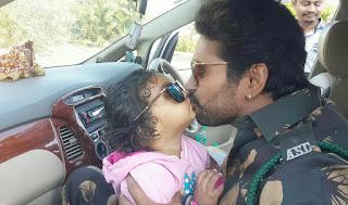 अपनी बेटी अदिति के साथ न्यू ईयर सेलिब्रेट कर रहे है यश कुमार