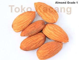 Almond utuh