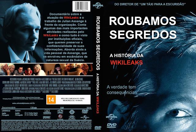 Capa DVD Roubamos Segredos A História Da Wikileaks
