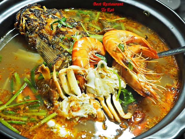 3 Premium Seafood Spicy Soup