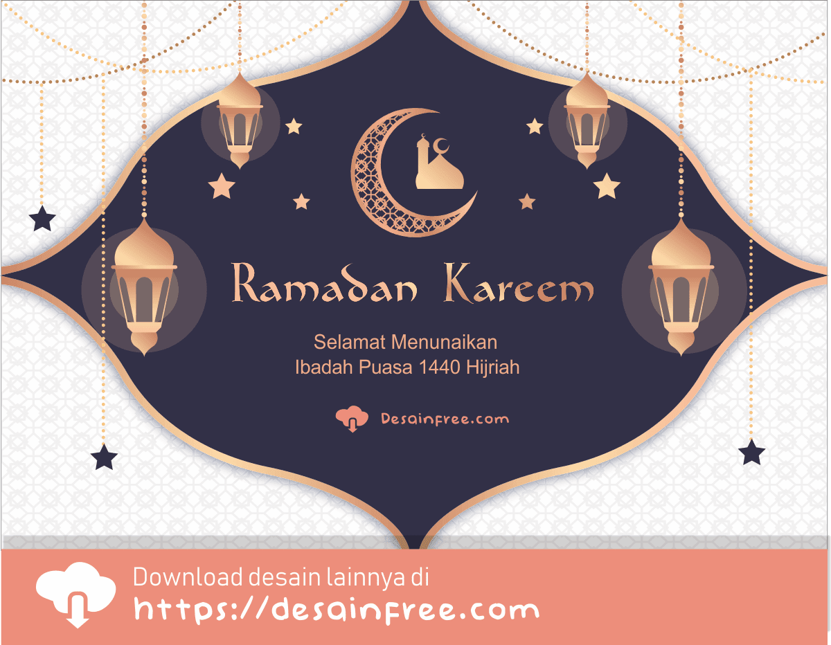 Banner Ramadhan Elegan Format AI, CDR, EPS Free Download ...