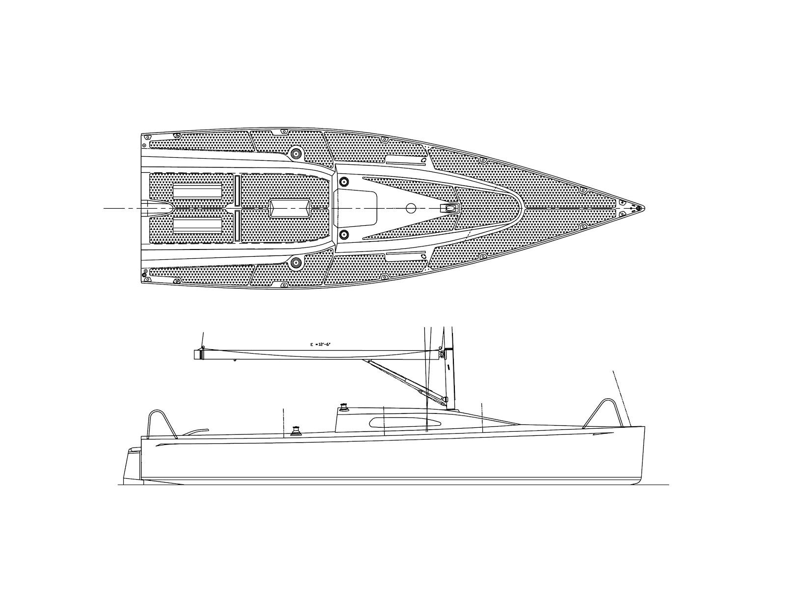 Cruising Boat Designs Left Coast Dart