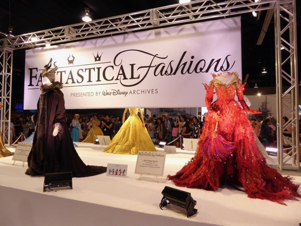 Disney Archives Fantastical Fashions D23 Expo 2017