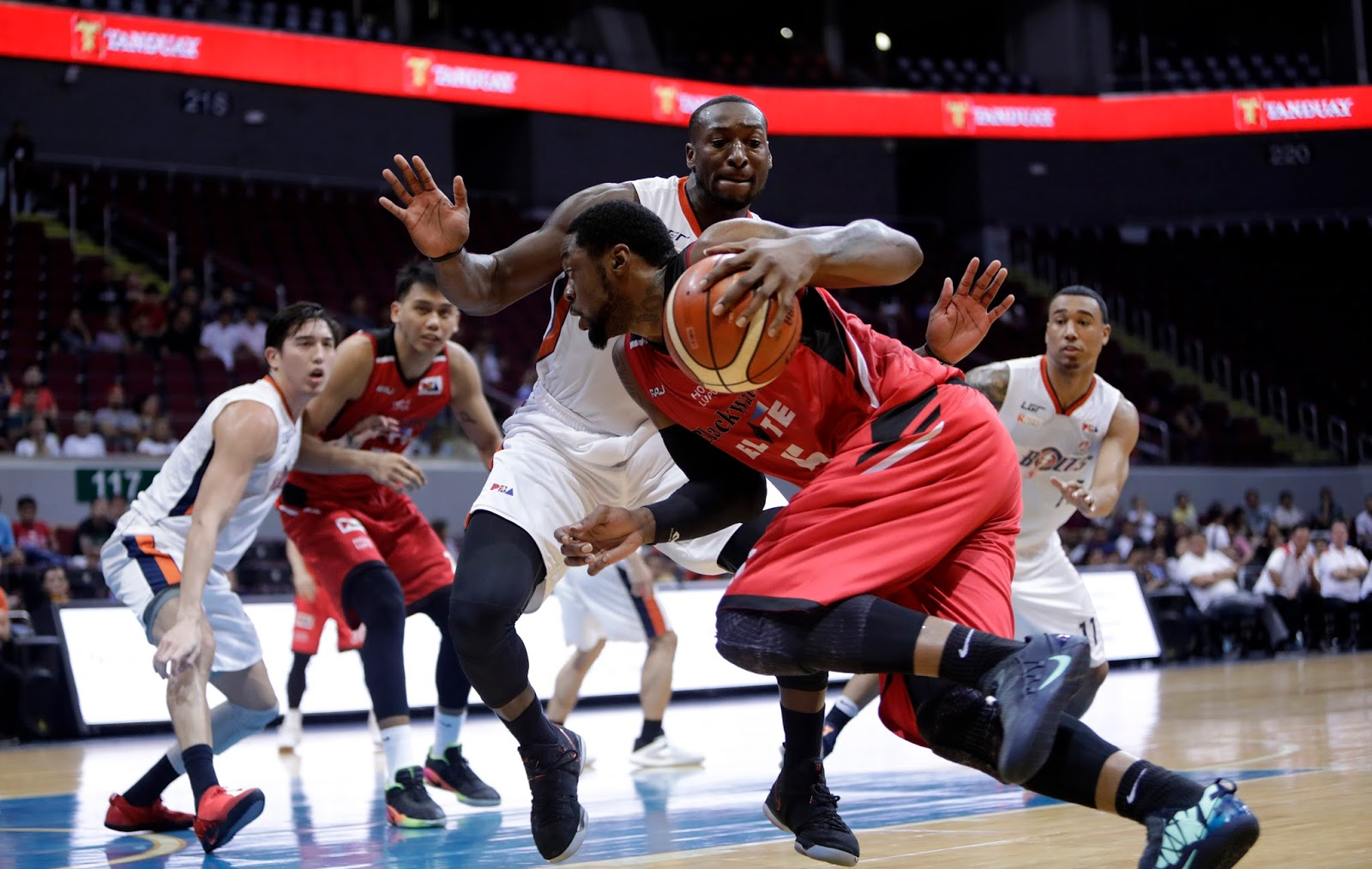 591cea6e967 Henry Walker outperformed Allen Durham in this match-up. (Photo by the PBA  Media Bureau)