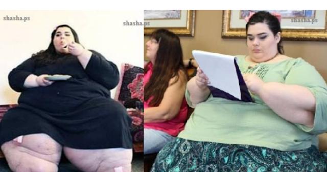 هذا ما فعلته هذه الفتاة لتخسر 160 كيلوغراماً من وزنها في وقت قليل! شاهد كيف اصبح شكلها اليوم!