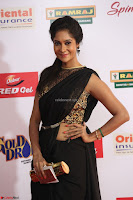 Sindhu looks fabulous in Black Saree designer choli at Mirchi Music Awards South 2017 ~  Exclusive Celebrities Galleries 026.JPG