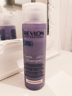 Blonde sublime shampoo