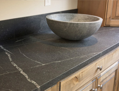 Beyond The Portico New Soapstone Counters For The Kitchen