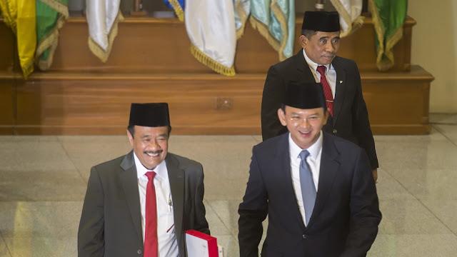 Hasil gambar untuk pengaktifan kembali ahok menjadi gubernur melanggar hukum