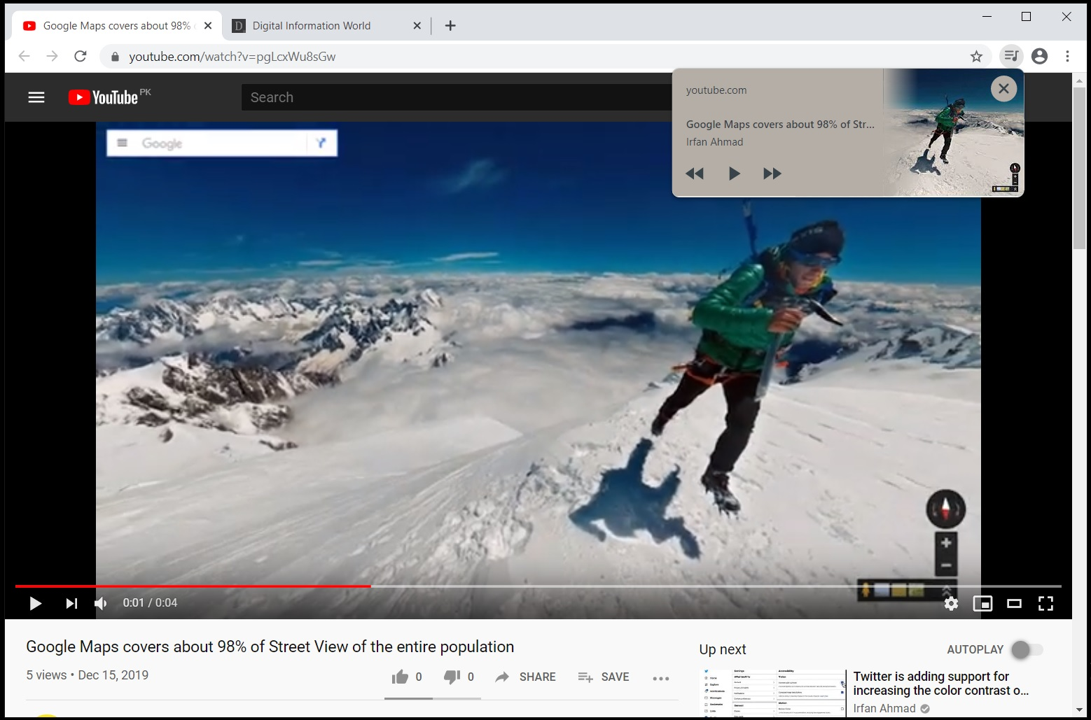 Google is Finally Rolling Out a Play Bar to the Chrome Toolbar to Regulate Media Files!
