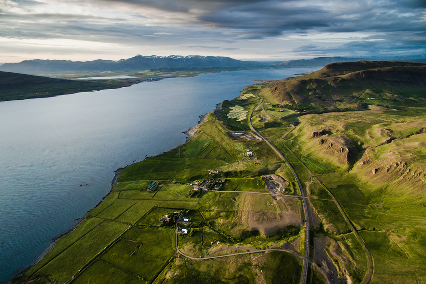Hvalfjörður - 40 Reasons To Visit Iceland With A Drone