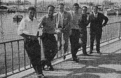 Componentes del Club Ajedrez Terrassa, Subcampeón de España por equipos 1965