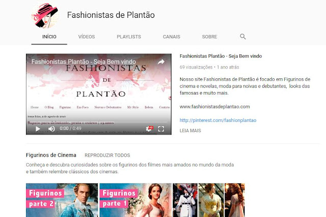 Fashionistas de plantão no Youtube