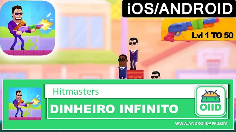 Hitmasters - APK MOD HACK - Dinheiro Infinito