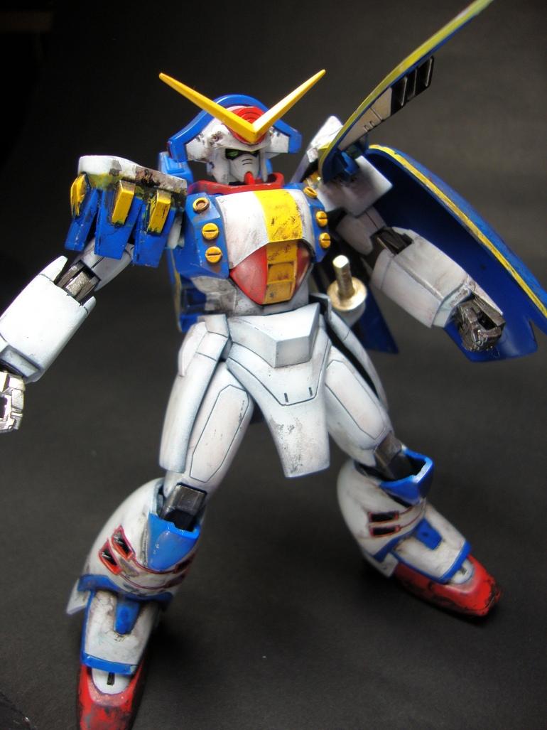 1 144 Rose Gundam Custom Build Gundam Kits Collection News And Reviews