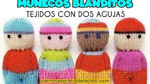 Muñecos Blanditos Tejidos con Dos Agujas Paso a Paso