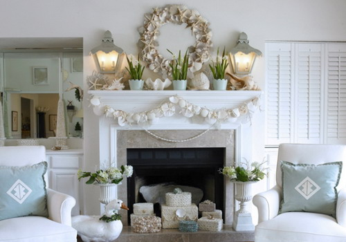 Give your home interior cozy looks with coastal decor - Beach theme decorating ideas ...