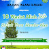 "Hadirilah, Kajian Islam Ilmiah Dengan Tema ""10 Wasiat Allah Untuk Para Hamba-Nya"""