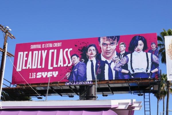 Deadly Class series billboard
