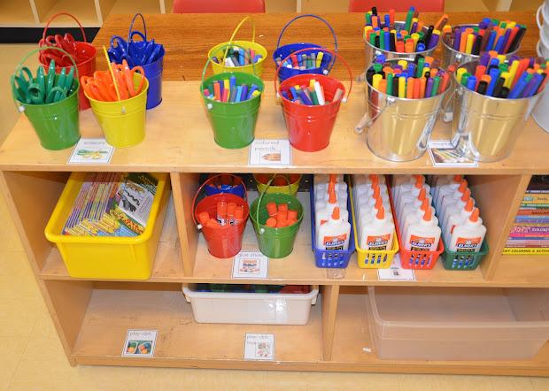 Kindergarten Classroom Organization Ideas