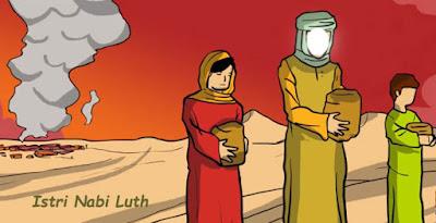 Gambar Istri Nabi Luth