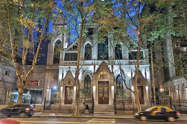 Iglesia.Foto Nocturna