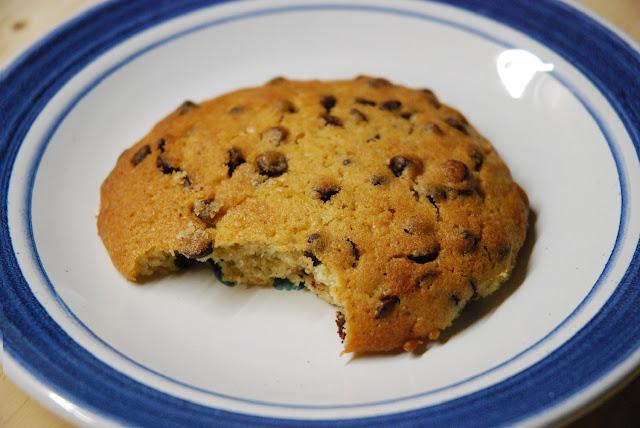 Cookies moelleux aux pepites de chocolat