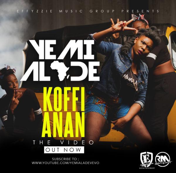 Yemi Alade Koffi Anan video