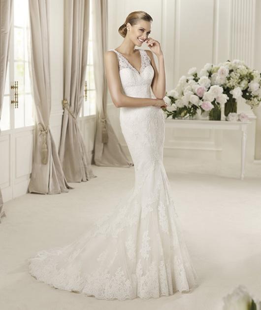 Brautkleider im Meerjungfrauen Stil