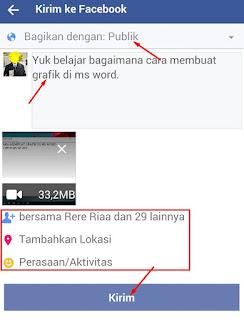 cara upload video ke fb
