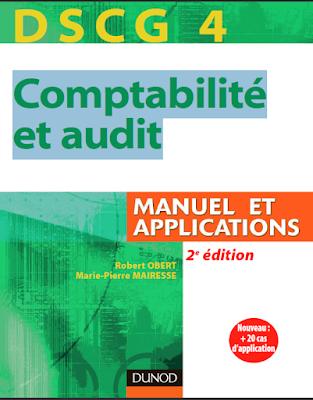 DSCG 4 comptabilité et audit manuel applications PDF