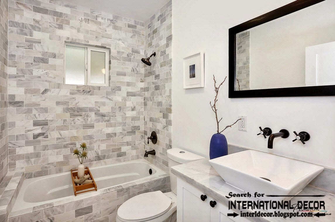Strange Latest Beautiful Bathroom Tile Designs Ideas 2016 Largest Home Design Picture Inspirations Pitcheantrous