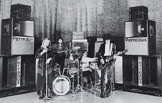 Ragnarok  Perreaux promo shot, Municipal Theatre, Napier, 1975