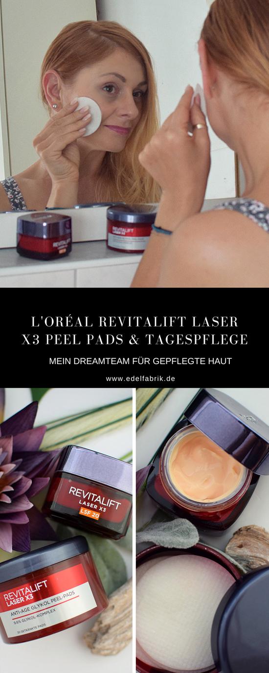 Review zu den L'Oréal Revitalift Laser X3 Peel Pads mit Glykolsäure.