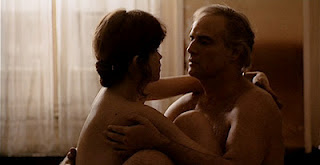 Marlon Brando, Mary Schneider in Last Tango in Paris, Erotic Sequence, Directed by Bernardo Bertolucci