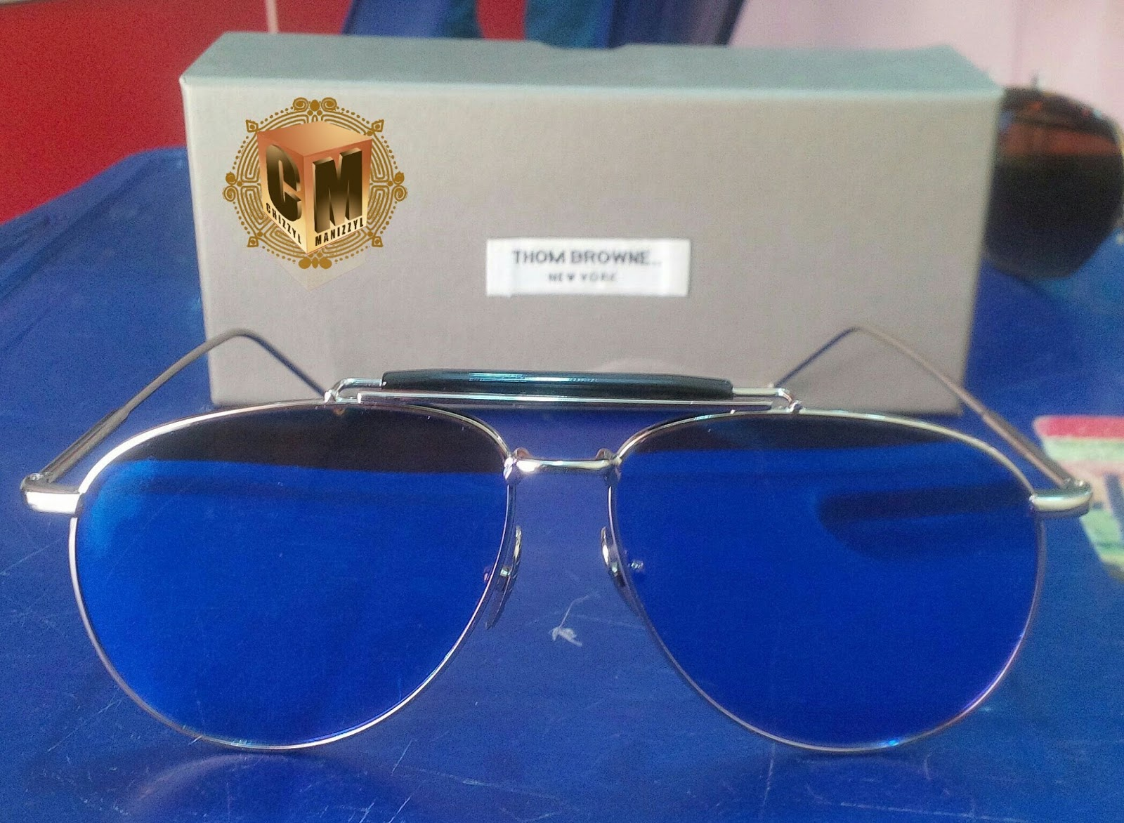 0eb961baccca Welcome to Chizzyl Manizzyl Concepts   Thom Browne sunglasses