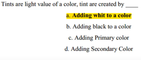Fine Arts MCQs with Answers - Mcqs on Nts ppsc Test Prep
